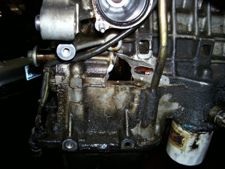 This is what happens when you don't change your oil!